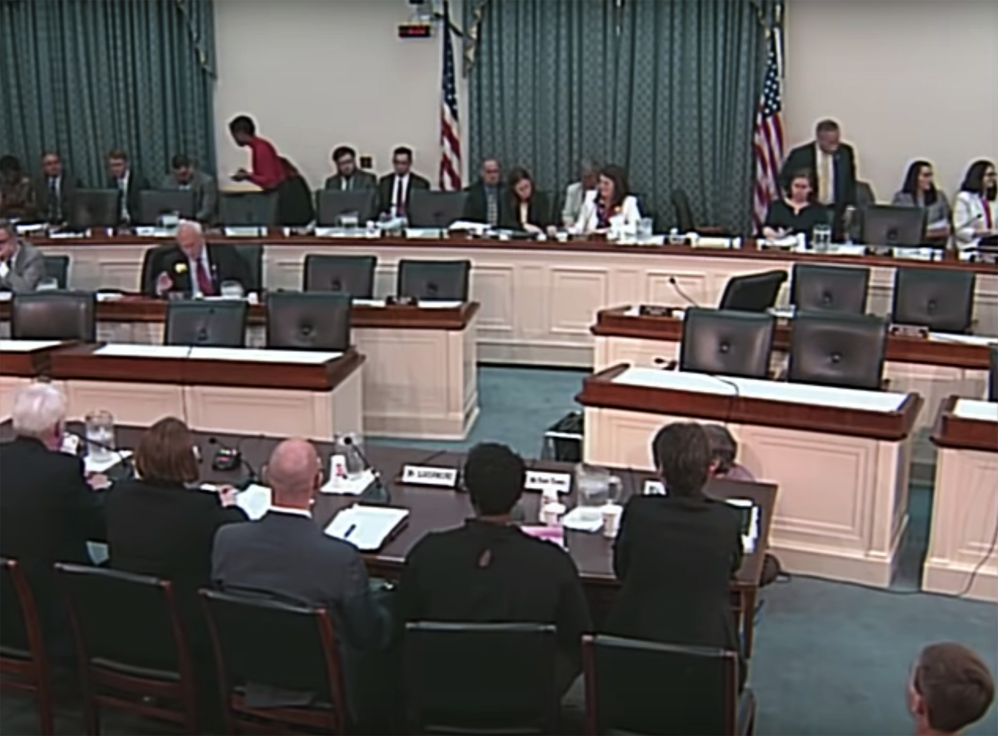 This is a picture of the Congressional hearing held May 21.