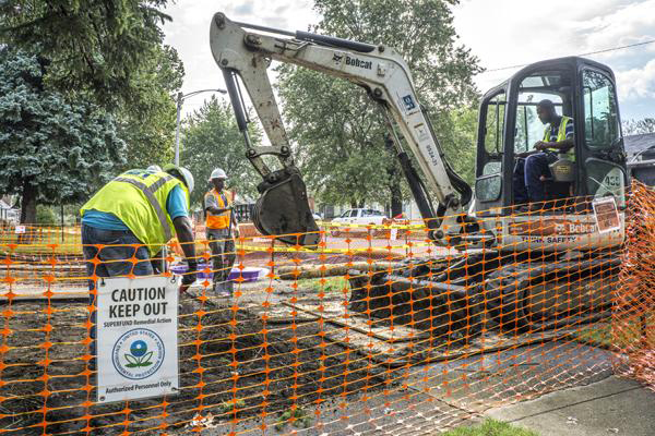 Remediation in East Chicago